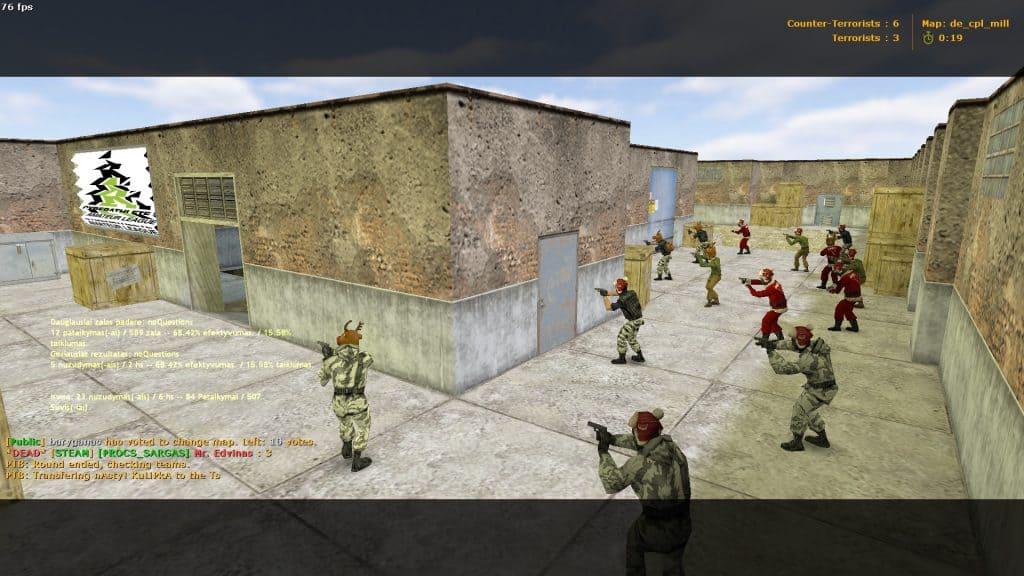 terrorist counter-strike 1.6 christmas